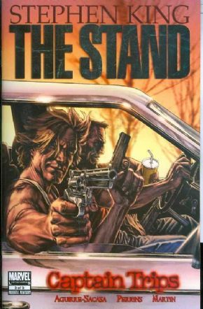 The Stand Captain Trips #3 (2008) Stephen King Marvel comic book